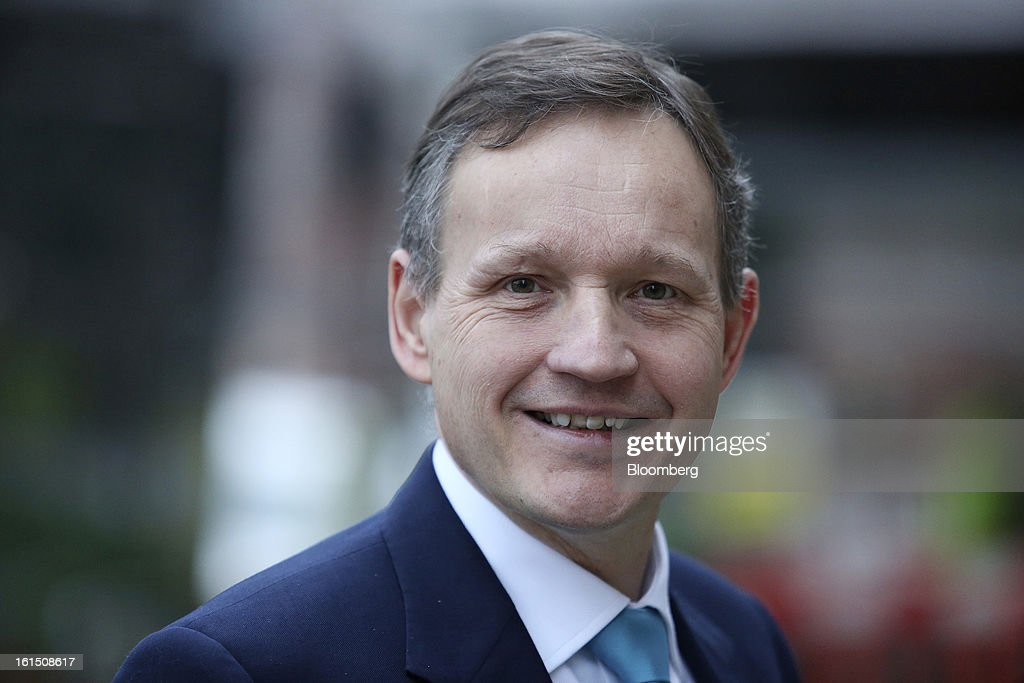 Antony Jenkins, chief executive officer of Barclays Plc, arrives to present the company's Strategic Review at a news conference in London, U.K., on Tuesday, Feb. 12, 2013. Barclays Plc, the first U.K. lender to report results for 2012, will eliminate 3,700 jobs to reduce annual costs by 1.7 billion pounds ($2.6 billion) after swinging into a full-year loss. Photographer: Chris Ratcliffe/Bloomberg via Getty Images