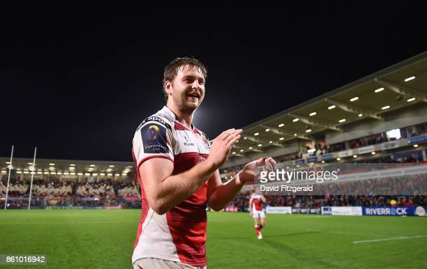 Antrim United Kingdom 13 October 2017 Iain Henderson of Ulster following his side's victory in the European Rugby Champions Cup Pool 1 Round 1 match...