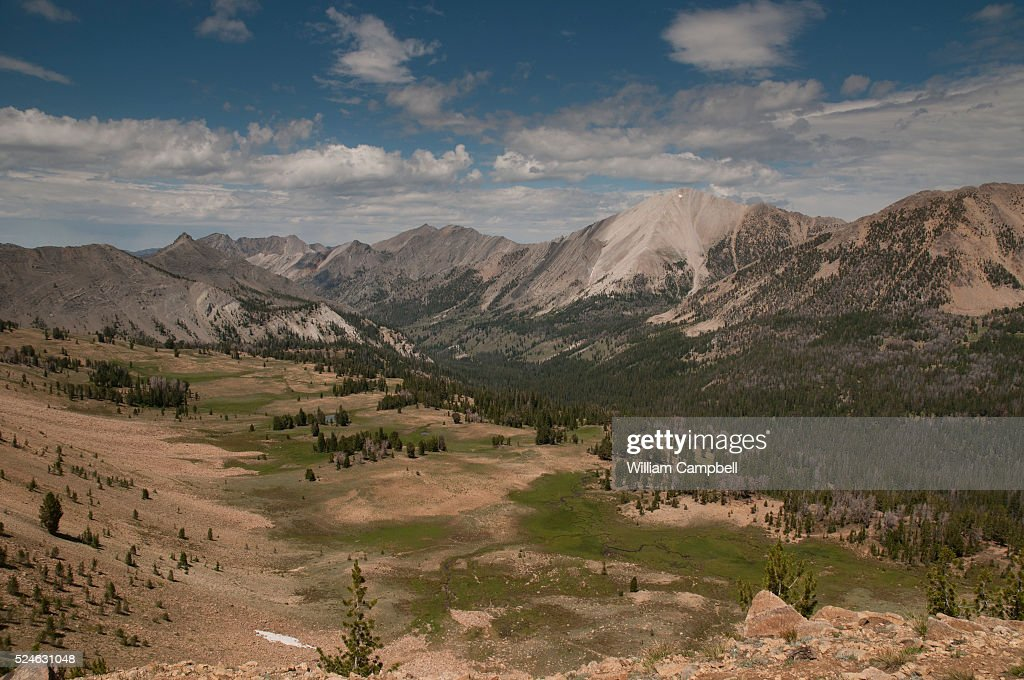 Ants Basin with White Cloud Mountains in the Sawtooth National Recrreation Area in central Idaho will become designated wilderness under the Central...