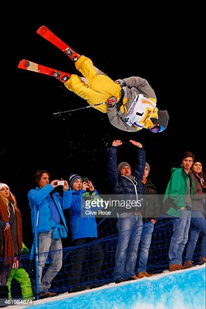 AnttiJussi Kemppainen of Finland competes in the Men's Ski Halfpipe Finals during the FIS Freestyle Ski and Snowboard World Championships 2015 on...