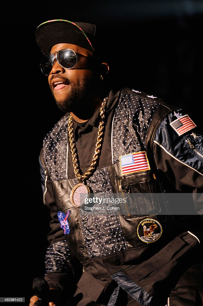 Antwan '<a gi-track='captionPersonalityLinkClicked' href=/galleries/search?phrase=Big+Boi&family=editorial&specificpeople=202898 ng-click='$event.stopPropagation()'>Big Boi</a>' Patton of Outkast performs during the 2014 Forecastle Music Festival at Louisville Waterfront Park on July 18, 2014 in Louisville, Kentucky.