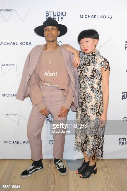 Antwaun Sargent and JiaJia Fei attend the Whitney Museum's annual Spring Gala and Studio Party 2017 sponsored by Audi and Michael Kors on May 23 2017...