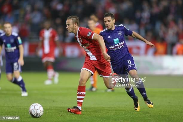 20170728 Antwerp Belgium / Antwerp Fc v Rsc Anderlecht / 'nAlexander CORRYN Alexandru CHIPCIU'nFootball Jupiler Pro League 2017 2018 Matchday 1 /...