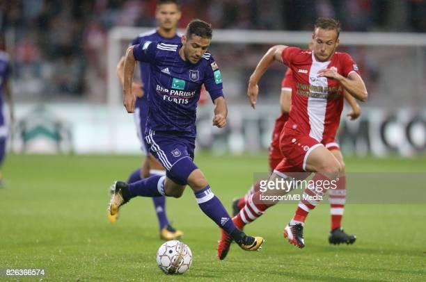 20170728 Antwerp Belgium / Antwerp Fc v Rsc Anderlecht / 'nAlexandru CHIPCIU Alexander CORRYN'nFootball Jupiler Pro League 2017 2018 Matchday 1 /...