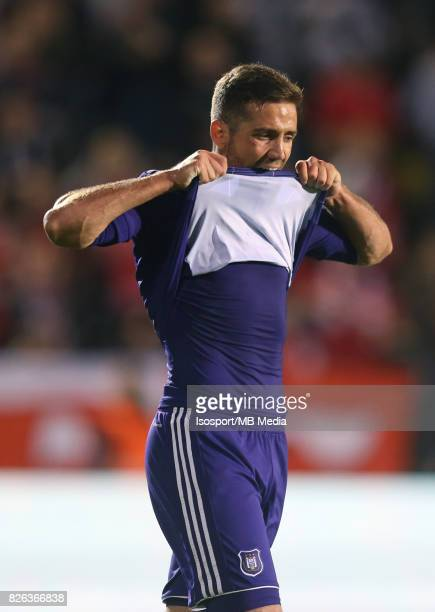 20170728 Antwerp Belgium / Antwerp Fc v Rsc Anderlecht / 'nAlexandru CHIPCIU Deception'nFootball Jupiler Pro League 2017 2018 Matchday 1 / 'nPicture...