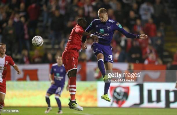 20170728 Antwerp Belgium / Antwerp Fc v Rsc Anderlecht / 'nDylan BATUBINSIKA Lukasz TEODORCZYK'nFootball Jupiler Pro League 2017 2018 Matchday 1 /...