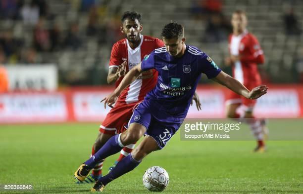 20170728 Antwerp Belgium / Antwerp Fc v Rsc Anderlecht / 'nFaris HAROUN Leander DENDONCKER'nFootball Jupiler Pro League 2017 2018 Matchday 1 /...