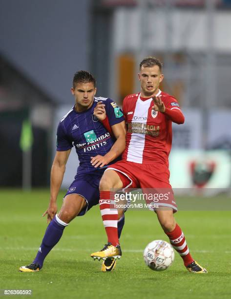 20170728 Antwerp Belgium / Antwerp Fc v Rsc Anderlecht / 'nLeander DENDONCKER Geoffry HAIREMANS'nFootball Jupiler Pro League 2017 2018 Matchday 1 /...