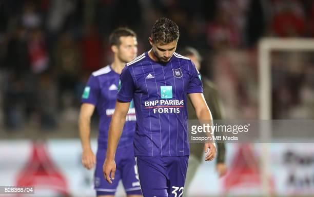 20170728 Antwerp Belgium / Antwerp Fc v Rsc Anderlecht / 'nLeander DENDONCKER Deception'nFootball Jupiler Pro League 2017 2018 Matchday 1 / 'nPicture...