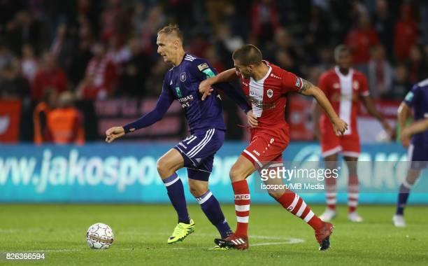 20170728 Antwerp Belgium / Antwerp Fc v Rsc Anderlecht / 'nLukasz TEODORCZYK Dino ARSLANAGIC'nFootball Jupiler Pro League 2017 2018 Matchday 1 /...