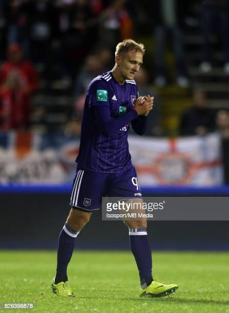 20170728 Antwerp Belgium / Antwerp Fc v Rsc Anderlecht / 'nLukasz TEODORCZYK Deception'nFootball Jupiler Pro League 2017 2018 Matchday 1 / 'nPicture...