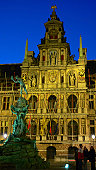 Antwerp, Belgium, Brabo, Fountain, city, Europe, Grand, Square