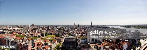 Antwerp, Belgium panorama