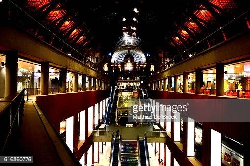 Antwerp Central railway station : Stock Photo