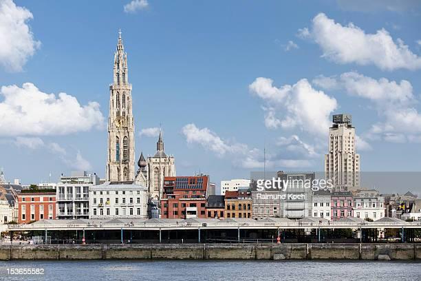 Antwerp riverfront