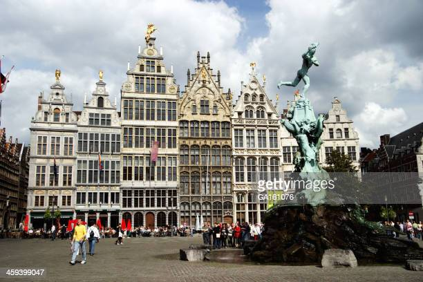 Antwerp: The Town Square (Grote Markt)