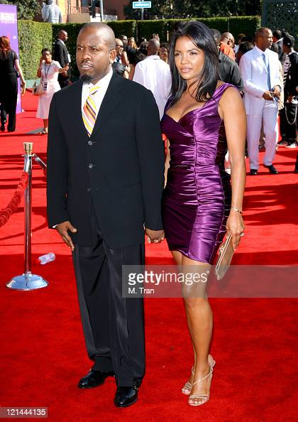 Antwone 'Big Boi' Patton and guest during BET Awards 2007 Arrivals at Shrine Auditorium in Los Angeles California United States
