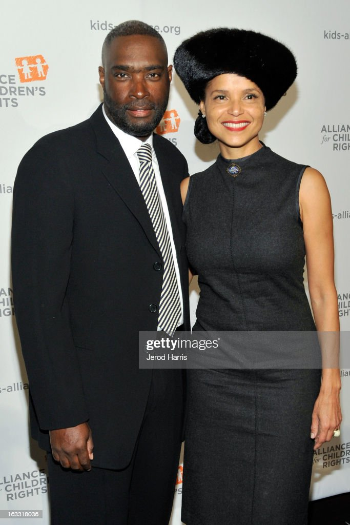 <a gi-track='captionPersonalityLinkClicked' href=/galleries/search?phrase=Antwone+Fisher&family=editorial&specificpeople=2969689 ng-click='$event.stopPropagation()'>Antwone Fisher</a> and actress <a gi-track='captionPersonalityLinkClicked' href=/galleries/search?phrase=Victoria+Rowell&family=editorial&specificpeople=202576 ng-click='$event.stopPropagation()'>Victoria Rowell</a> arrive at The Alliance for Children's Rights 21st annual gala at The Beverly Hilton Hotel on March 7, 2013 in Beverly Hills, California.