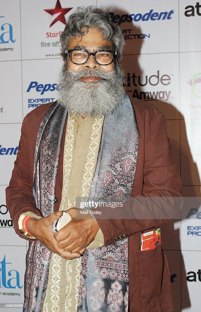 Anupam Shyam during Indian Television Academy Awards 2012 (ITA Awards), held in Mumbai on November 4, 2012.