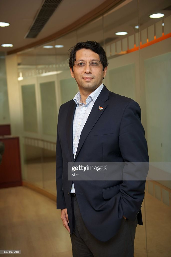 Anurag Das, Managing Partner of Rain Tree Capital, a Singapore-based firm which specializes in Asia-Pacific Credit and Distressed and Special Situations, poses for a profile shoot on August 17, 2015 in New Delhi, India.
