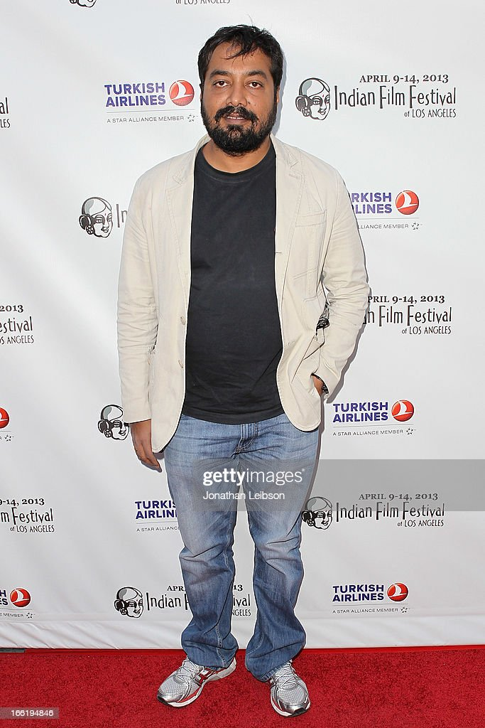 Anurag Kashyap attends the 11th Annual Indian Film Festival Of Los Angeles - Opening Night Gala for 'Gangs Of Wasseypur' at ArcLight Hollywood on April 9, 2013 in Hollywood, California.