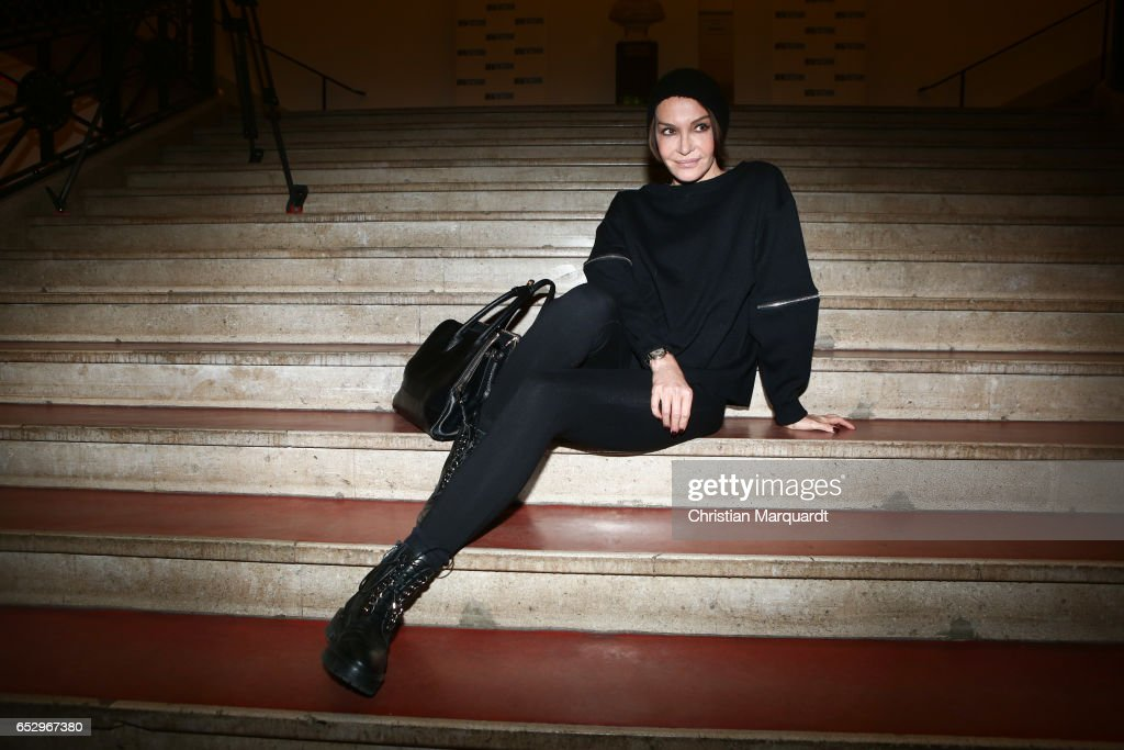 Anuschcka Renzi attends the 'Charite' premiere at Langenbeck-Virchow-Haus on March 13, 2017 in Berlin, Germany.