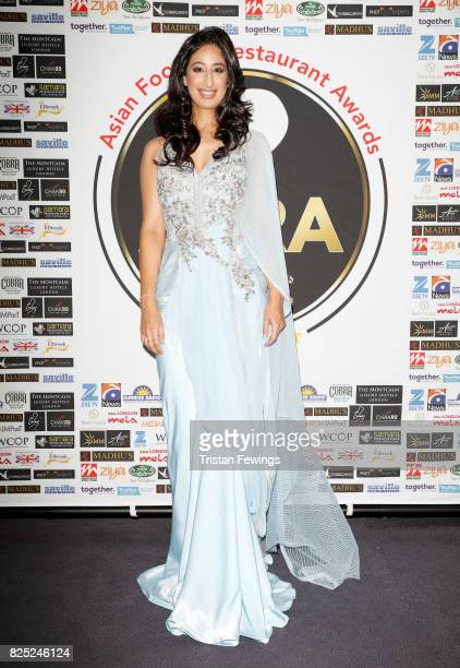 Anushka Arora attends The Asian Food and Restaurant Awards 2017 at Montcalm Hotel on August 1 2017 in London England