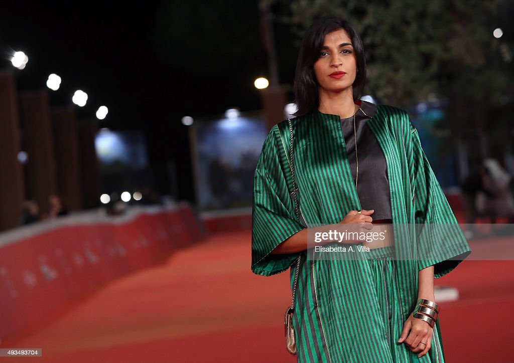 <a gi-track='captionPersonalityLinkClicked' href=/galleries/search?phrase=Anushka+Manchanda&family=editorial&specificpeople=5577465 ng-click='$event.stopPropagation()'>Anushka Manchanda</a> walks the red carpet for 'Angry Indian Goddesses' during the 10th Rome Film Fest at Auditorium Parco Della Musica on October 20, 2015 in Rome, Italy.