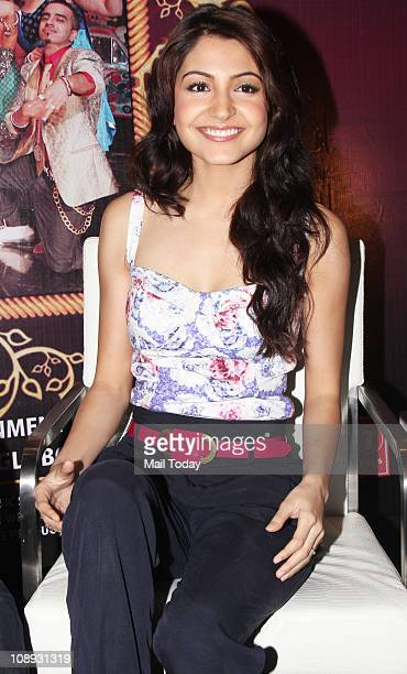 Anushka Sharma at a promotional event of her upcoming film Patiala House organised by Nyootv
