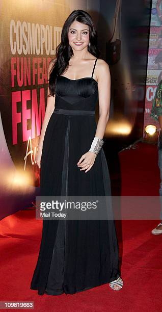 Anushka Sharma at the 2011 Cosmopolitan 'Fun Fearless Female' Awards at Taj Land's End in Mumbai