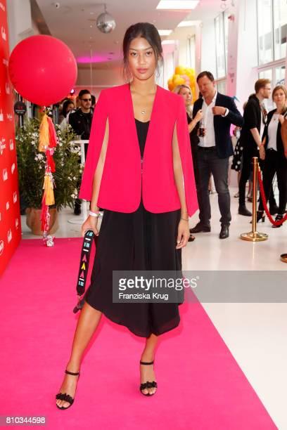 Anuthida Ploypetch attends the Gala Fashion Brunch during the MercedesBenz Fashion Week Berlin Spring/Summer 2018 at Ellington Hotel on July 7 2017...
