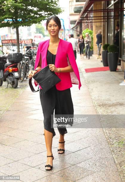 Anuthida Ploypetch attends the Gala Fashion Brunch Ellington Hotel on July 7 2017 in Berlin Germany