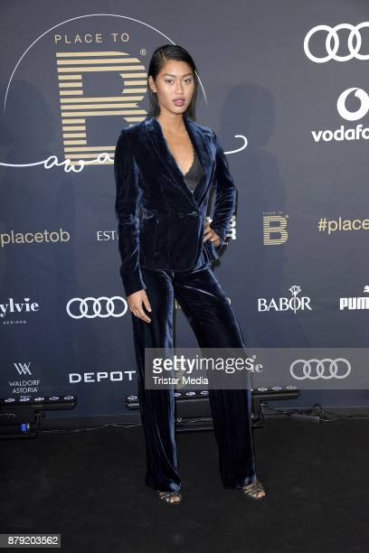 Anuthida Ploypetch attends the Place To B Influencer Award at Axel Springer Haus on November 25 2017 in Berlin Germany