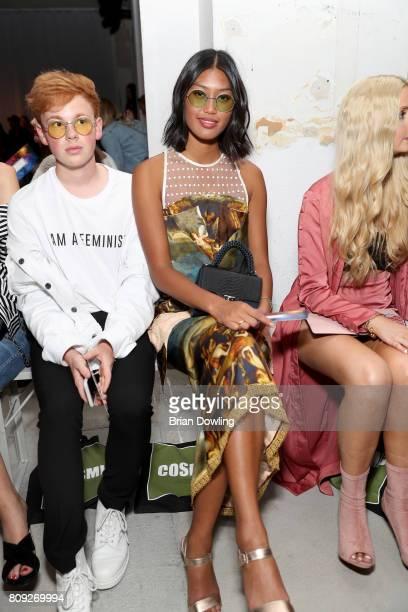 Anuthida Ploypetch attends the Rebekka Ruetz show during the MercedesBenz Fashion Week Berlin Spring/Summer 2018 at Kaufhaus Jandorf on July 5 2017...
