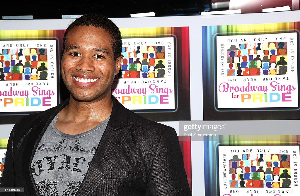 <a gi-track='captionPersonalityLinkClicked' href=/galleries/search?phrase=Anwar+Robinson&family=editorial&specificpeople=2314362 ng-click='$event.stopPropagation()'>Anwar Robinson</a> attends Broadway Sings For Pride NYC 2013 Benefit at Iguana on June 24, 2013 in New York City.