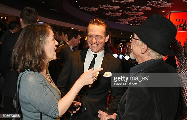 Anwen ReesMyers cast member Jamie Parker and Sir John Hurt attend the press night after party for 'Guys And Dolls' at The Hippodrome Casino on...