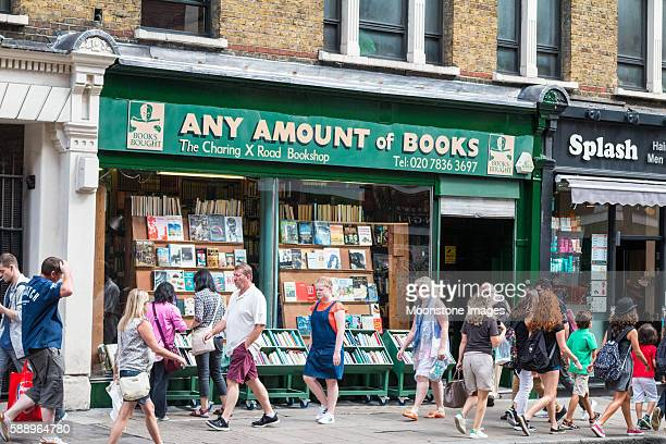 Any Amount of Books in Charing Cross Road, London