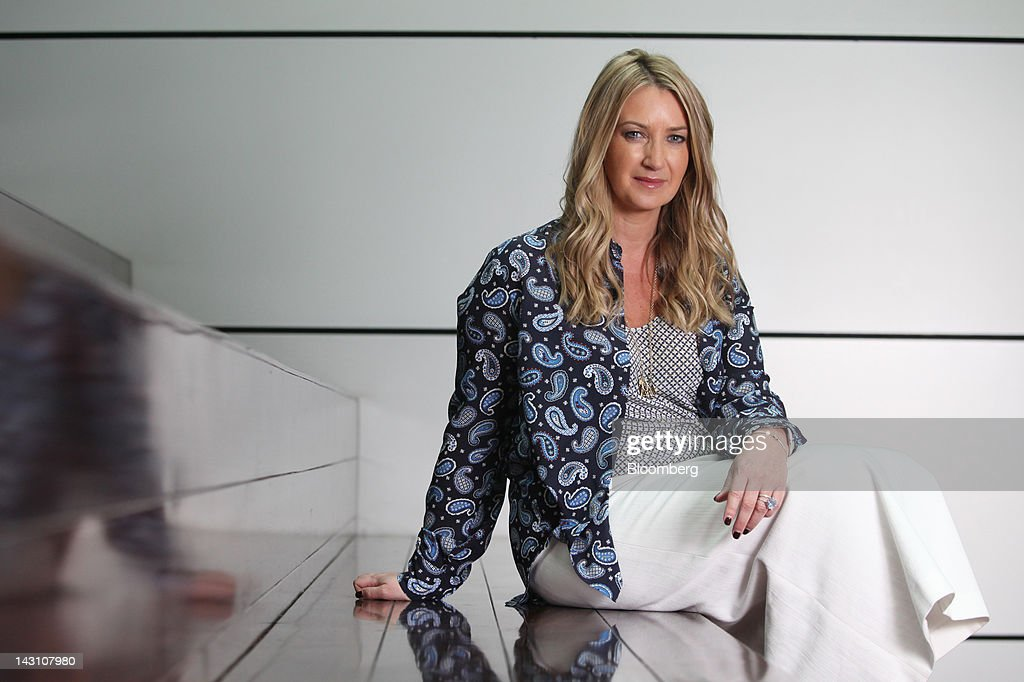 anya hindmarch chairman and chief creative officer of anya hindmarch poses for a photograph