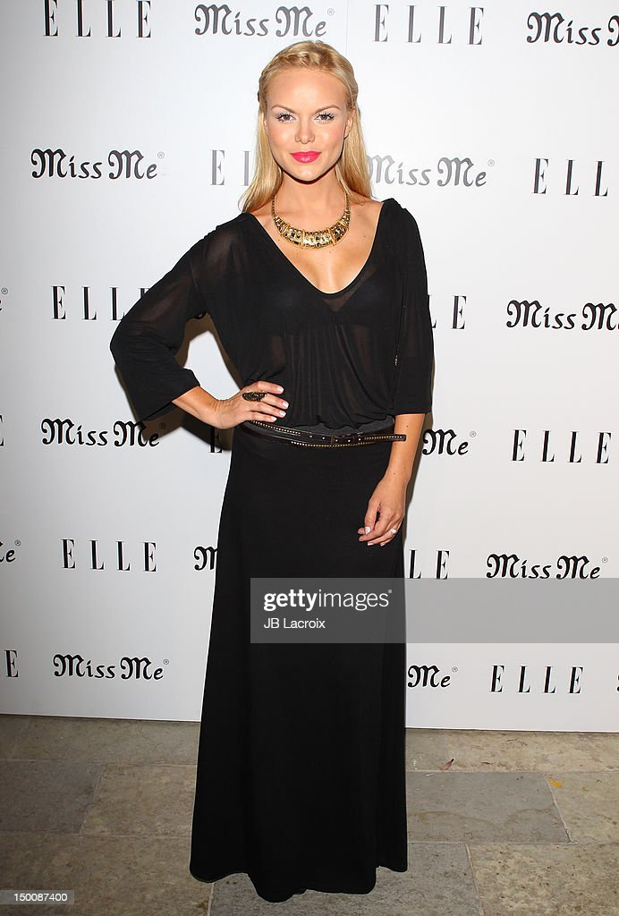 "Elle Magazine And Sarah Hyland Hosts Songbirds' ""Miss Me"" Album Release Party - Arrivals"