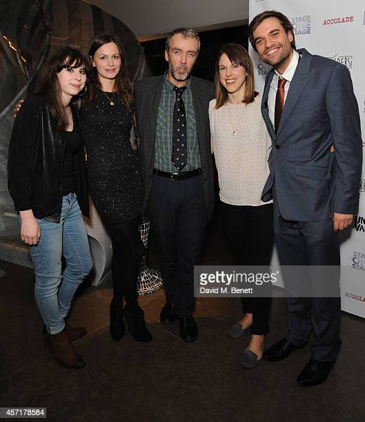 Anya Reiss Rebecca night John Hannah Amanda Hale and Russell Bolam attend the press night performance of 'Uncle Vanya' at The St James Theatre on...