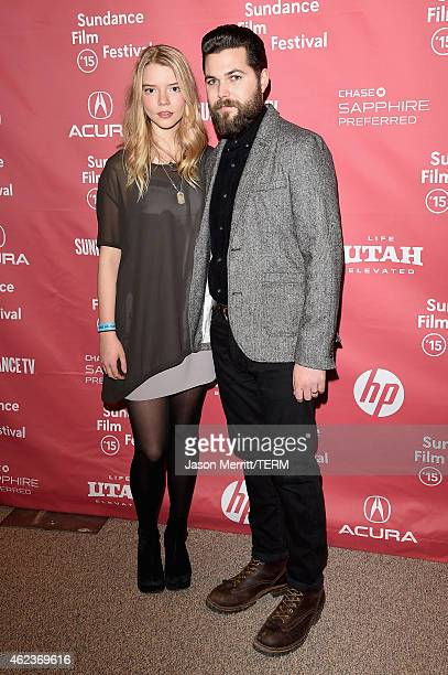 Anya TaylorJoy and Robert Eggers attend 'The Witch' premiere during the 2015 Sundance Film Festival on January 27 2015 in Park City Utah