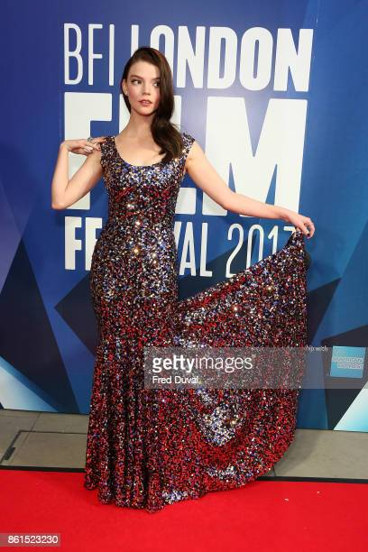 Anya TaylorJoy attends the 61st BFI London Film Festival Awards on October 14 2017 in London England