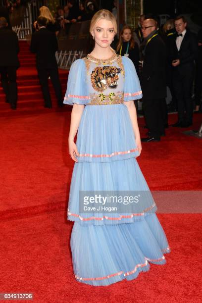 Anya TaylorJoy attends the 70th EE British Academy Film Awards at Royal Albert Hall on February 12 2017 in London England