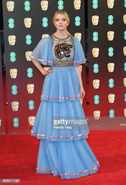 Anya TaylorJoy attends the 70th EE British Academy Film Awards at the Royal Albert Hall on February 12 2017 in London England