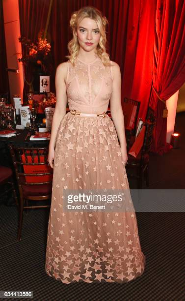 Anya TaylorJoy attends the BAFTA 2017 Film Gala Dinner at BAFTA Piccadilly on February 9 2017 in London England