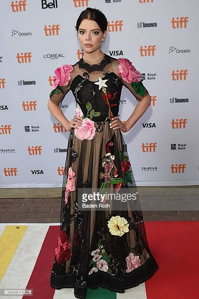 Anya TaylorJoy attends the 'Barry' premiere during the 2016 Toronto International Film Festival at Ryerson Theatre on September 10 2016 in Toronto...