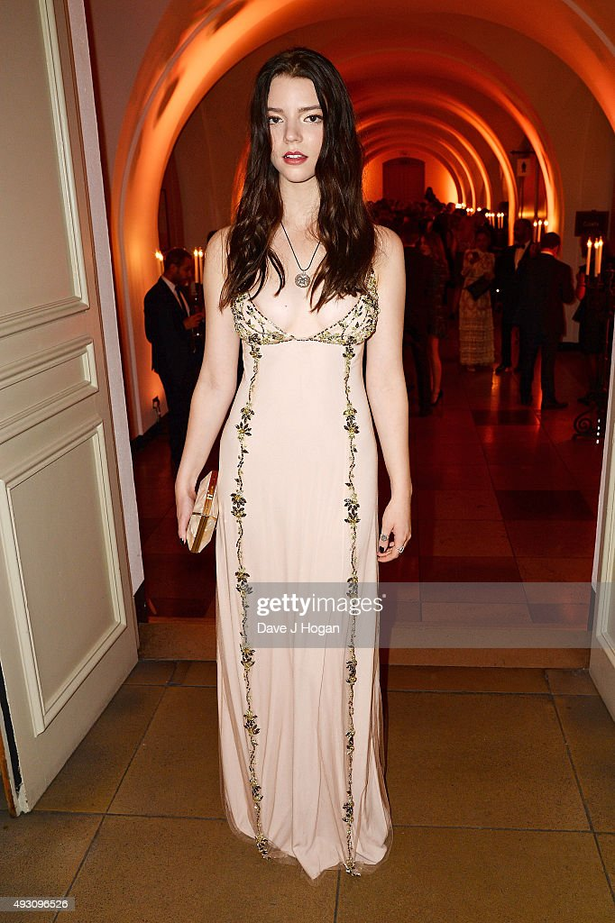 Anya Taylor-Joy attends the BFI London Film Festival Awards at Banqueting House on October 17, 2015 in London, England.