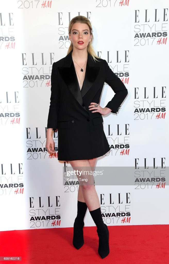 Anya Taylor-Joy attends the Elle Style Awards 2017 on February 13, 2017 in London, England.