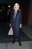 Celebrity Sightings In New York City - February 22, 2020