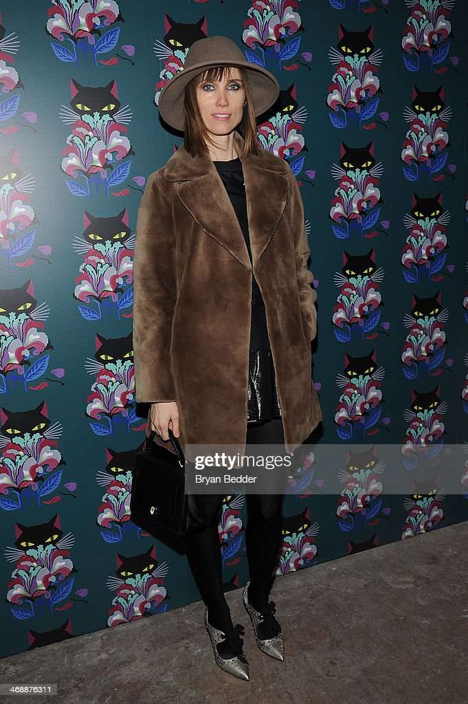 Anya Ziourova attends Miu Miu Women's Tales 7th Edition - 'Spark & Light' Screening - Arrivals at Diamond Horseshoe on February 11, 2014 in New York City.